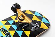 """Скейтборд деревянный Fish """"Tri"""" оригинал, матовый алюминиевый подвес, фото 7"""