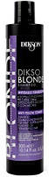 Тонирующий шампунь против желтизны DIKSON Dikso Blonde Anti-Yellow Shampoo 300 мл