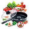 Сковорода паровая пароварка Dry Cooker Tigaia Magica 26 см сковородка