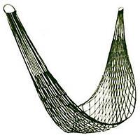 Гамак сетка на кольцах STENSON 200 х 80 см (гамак-сітка на кільцях)