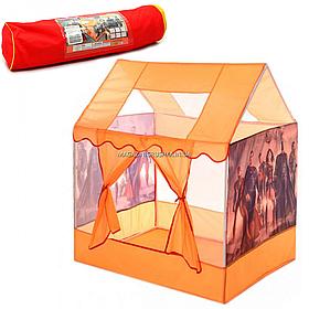 Детская игровая палатка домик супергерои, 100х70х110 (M 6119)