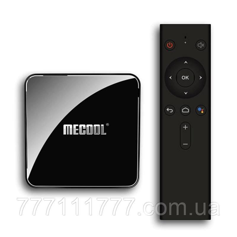 Смарт ТВ приставка для телевизора на андроиде MECOOL KM3 4/128Gb