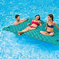 Пляжный надувной матрас Intex 56841 «Гигант», 290*213 см