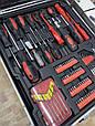 Набор инструментов в чемодане 187 элементов набор в чемодане для настоящего мужчины, фото 3