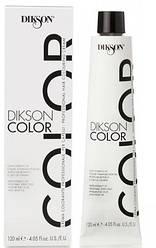 Краска для волос с гиалуроновой кислотой и маслом конопли DIKSON Color Hair Colouring Cream 120 мл