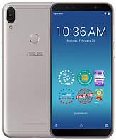 Телефон серебристый с большим аккумулятором и хорошей камерой Asus ZenFone Max Pro M1 ZB602KL silver 4/64GB