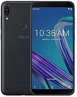 Смартфон асус с большим дисплеем, мощной батареей на 2 сим карты Asus ZenFone Max Pro M1 ZB602KL black 4/128Gb