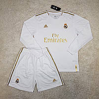 Форма Реал Мадрид с длинным рукавом 19/20 домашняя, фото 1