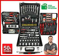 Набор инструментов в чемодане 187 элементов набор в чемодане для настоящего мужчины