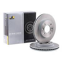 Диск тормозной передний вентилируемый Renault Megane (RoadHouse 6080.10)