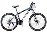 🚲Горный алюминиевый велосипед CROSS LEADER (Disk, моноблок, 21 speed); рама 15; колеса 26, фото 5