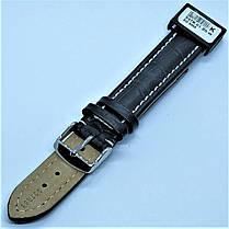 20 мм Кожаный Ремешок для часов CONDOR 337.20.01 Черный Ремешок на часы из Натуральной кожи, фото 3