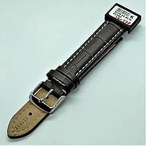 20 мм Кожаный Ремешок для часов CONDOR 337.20.02 Коричневый Ремешок на часы из Натуральной кожи, фото 3