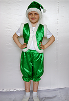 Карнавальний костюм Гномик (зелений)