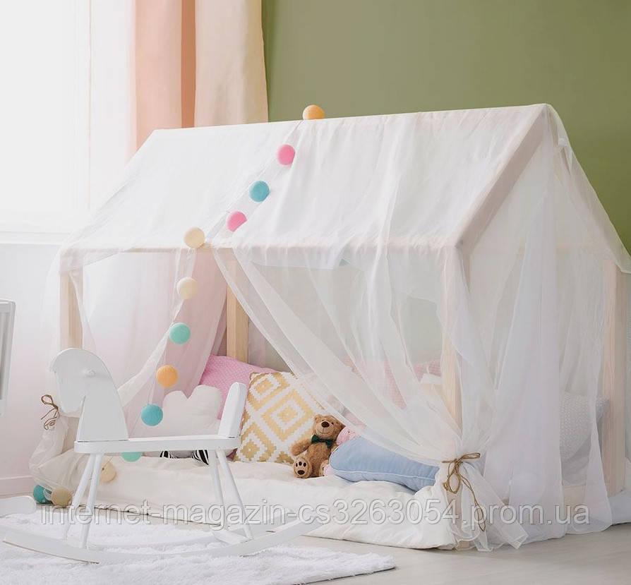 """Балдахин  на  детскую кроватку Домик """" Чехол Крыша """" шатер на кроватку"""