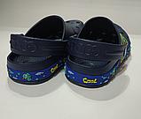 Кроксы детские DAGOStyle белые и синие, фото 6