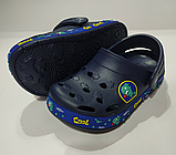 Кроксы детские DAGOStyle белые и синие, фото 8