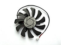 Вентилятор №108 кулер для видеокарты MSI GTX 750Ti GT 710 730 740 HA8010H12F-Z HA8010H12B-Z