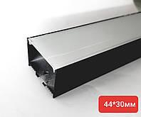 Светодиодный профиль SL 44х30 Черный, фото 1