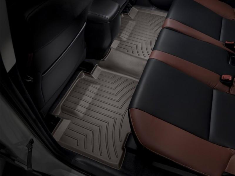Ковры резиновые WeatherTech Toyota RAV4  2013-2018 задние какао