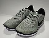 Кроссовки Nike(размер 36-37) женские сетка серые, черные, синие, фото 2