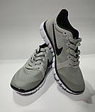 Кроссовки Nike(размер 36-37) женские сетка серые, черные, синие, фото 6