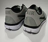 Кроссовки Nike(размер 36-37) женские сетка серые, черные, синие, фото 9