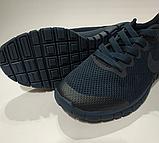 Кроссовки Nike(размер 36-37) женские сетка серые, черные, синие, фото 5