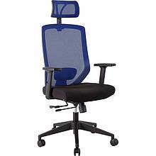 Крісло офісне Office4you Joy Black/Blue (14504)