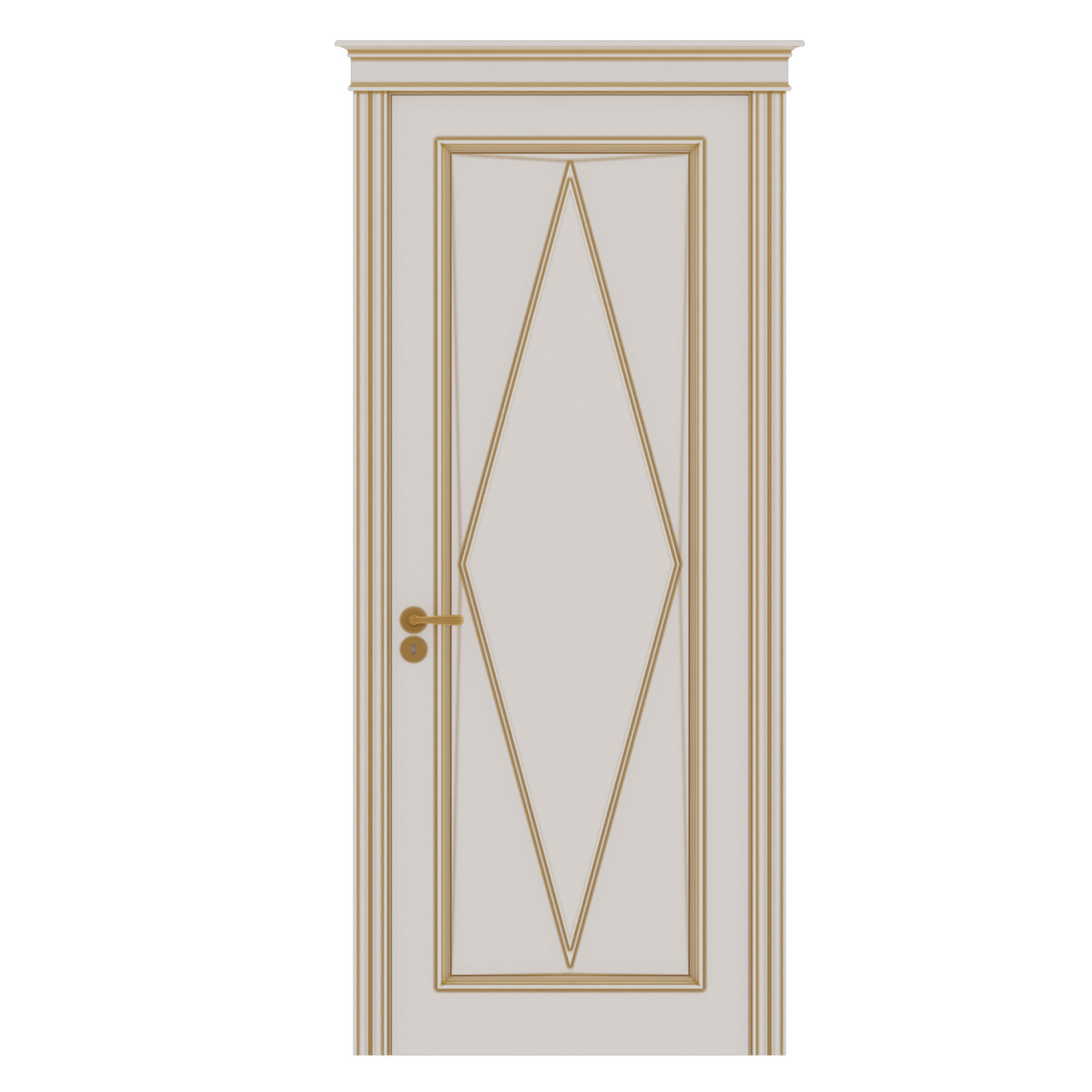 Межкомнатная дверь Casa Verdi Rombo 3 из массива ясеня