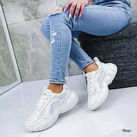 Кроссовки женские весенние спортивные белые