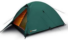 Палатка туристична 4-місцева Trimm Hudson (3100х2050х1250мм), оливкова