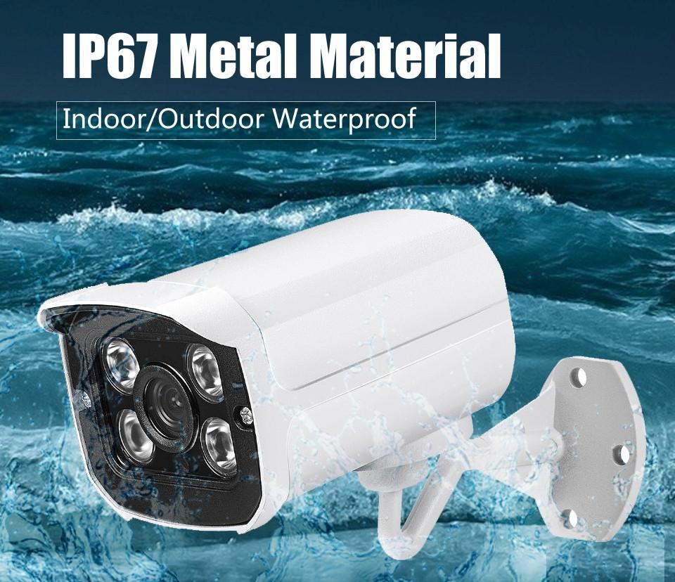 IP Видеокамера цилиндрическая 2Мпх в антивандальном корпусе / XM DSP