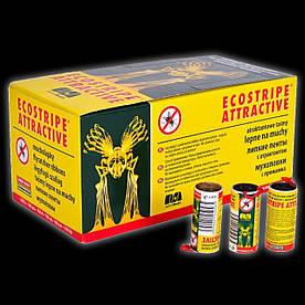 Экострайп Ecostripe липкая лента от мух, мухоловка. Картонная гильза(Д1-183-1) Чехия