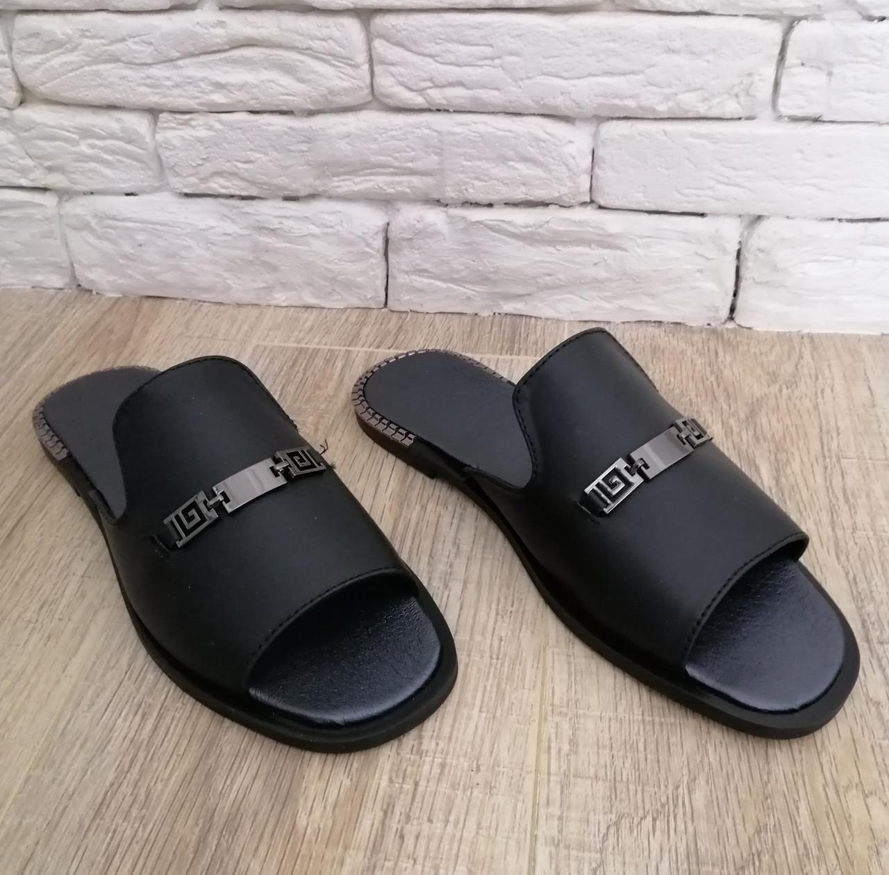 Женские сабо кожа. Обувь сабо 36-41 черный