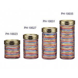 Банка для сыпучих 2,2л  Peterhof (стекло) PH10035