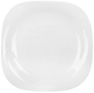 Тарелка десертная Luminarc Carine White квадратная 19 см (L4454)