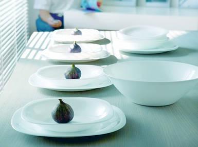 Тарелка суповая Luminarc Carine квадратная 21 см (L5406)
