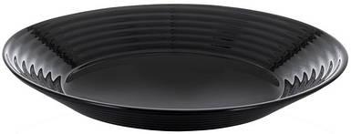 Тарелка Luminarc Harena Black 23 см суповая L7610