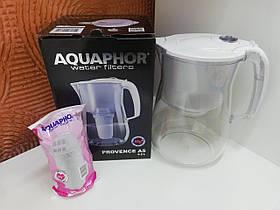 Фильтр-кувшин для воды Аквафор Прованс (белый) 4,2 л