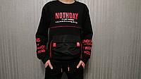 Модные свитшоты для мальчиков подростковые оптом GRACE,разм 134-164 см, фото 1