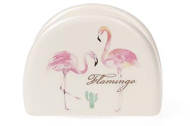 """Салфетница BonaDi """"Розовый Фламинго"""" 10 см DM747-FL"""
