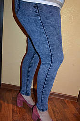 Женские брючки под джинсы варенка   больших размеров