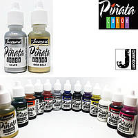 "Спиртовые чернила ""Jacquard Pinata"" пр-во США, 15 мл, металлик золото 1032, фото 1"