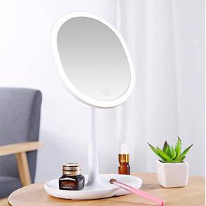 Дзеркало косметичне JOYROOM JR-CY268 Beauty series Білий (JR-CY268), фото 2