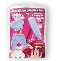 Salon Express - Набір для нанесення візерунків на нігті (стемпинга)