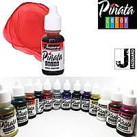 "Спиртові чорнило ""Jacquard Pinata"" пр-во США, 15 мл, Чилі Пеппер 1009, Chili Pepper"