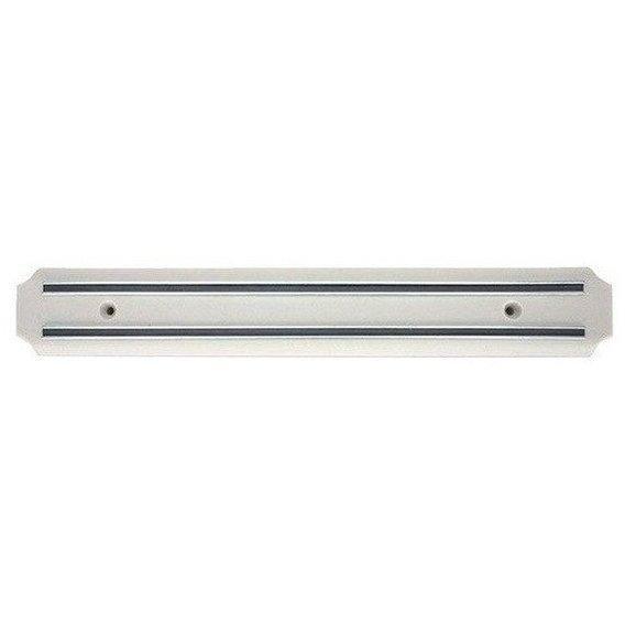 Магнитный держатель крепление планка для ножей инструментов 38см Con Brio 7104 белая
