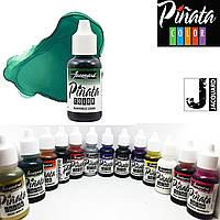 """Спиртові чорнило """"Jacquard Pinata"""" пр-во США, 15 мл, Тропічний зелений 1023, Painforest green"""