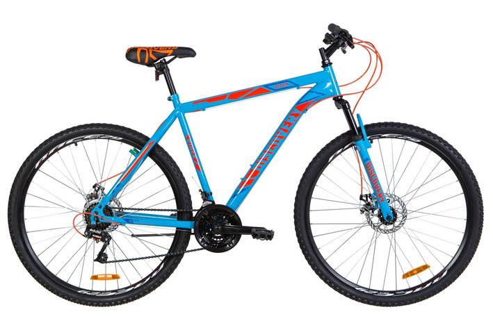 """Велосипед горный 29"""" Discovery Rider AM DD 2020 сине-оранжевый, фото 2"""